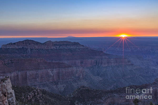Photograph - Point Imperial Sunrise by Richard Sandford