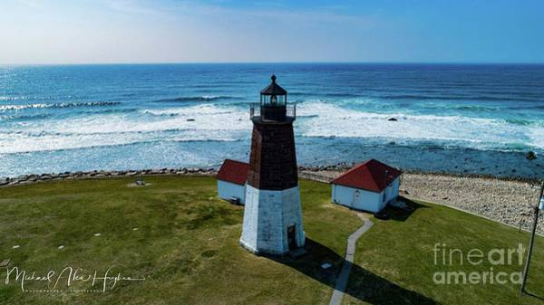 Photograph - Point Judith Lighthouse by Michael Hughes