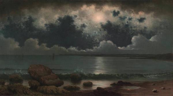 Hamlet Painting - Point Judith, Rhode Island by Martin Johnson Heade