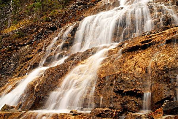 Wall Art - Photograph - Point Lace Falls 3 by Larry Ricker