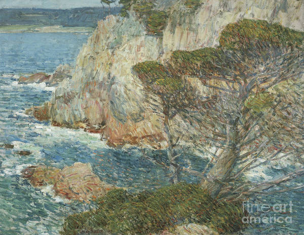 Painting - Point Lobos, Carmel, 1914 by Childe Hassam