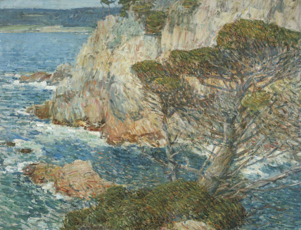 Painting - Point Lobos, Carmel by Childe Hassam