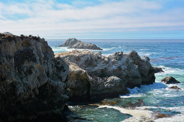 Photograph - Point Lobos China Cove by Kyle Hanson