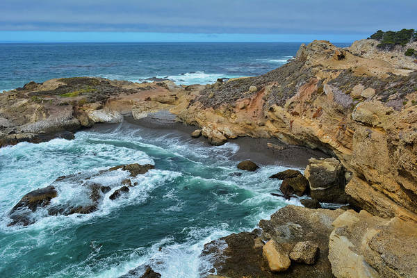 Photograph - Point Lobos Cove by Kyle Hanson