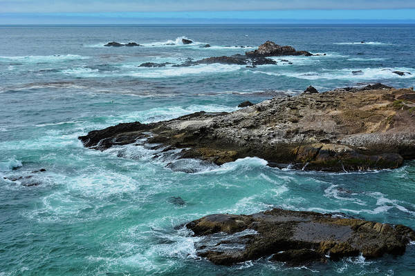 Photograph - Point Lobos Rocky Coast by Kyle Hanson