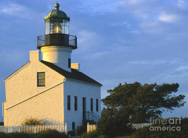 Wall Art - Photograph - Point Loma Lighthouse by Sandra Bronstein