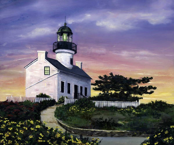 Wall Art - Painting - Point Loma by Lisa Reinhardt