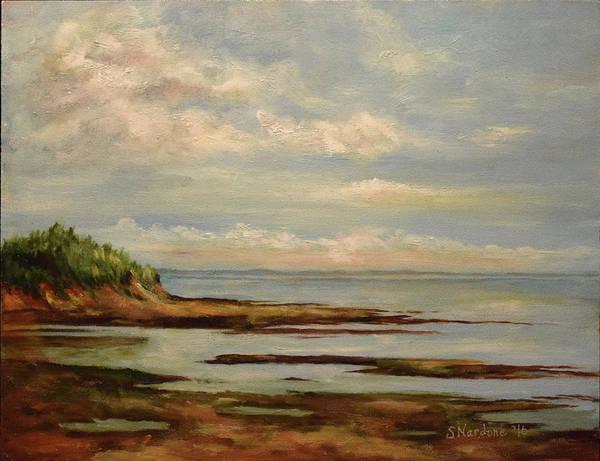 Prince Edward Island Painting - Point Prime, Pei by Sandra Nardone