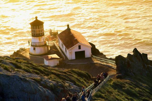 Photograph - Point Reyes Lighthouse 1 by Bonnie Follett
