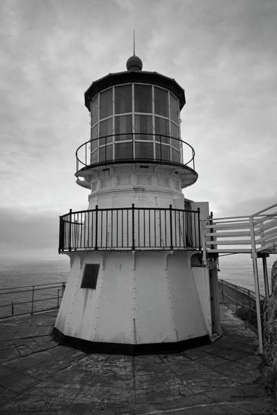 Photograph - Point Reyes Lighthouse I Bw by David Gordon