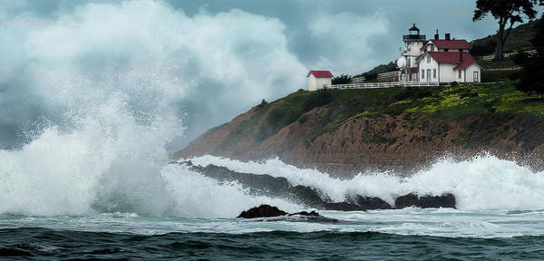 Photograph - Point San Luis Lighthouse by Bruce Bonnett
