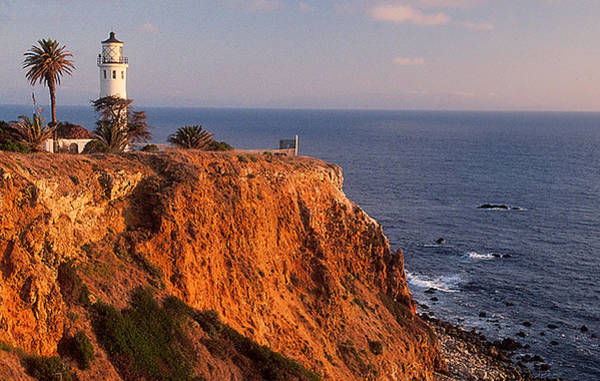 Point Vicente Wall Art - Photograph - Point Vicente Lighthouse by Nancy Hoyt Belcher