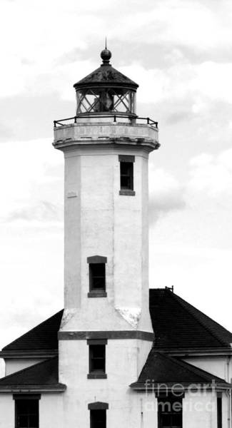 Photograph - Point Wilson Lighthouse by Barbara Henry