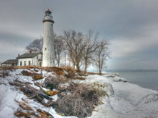 Wall Art - Photograph - Pointe Aux Barques Lighthouse by Patti Pappas