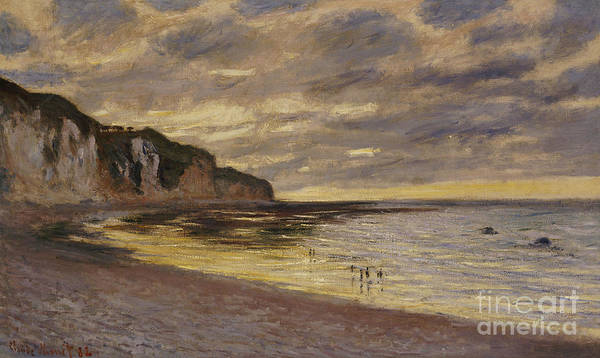 Brewing Wall Art - Painting - Pointe De Lailly by Claude Monet