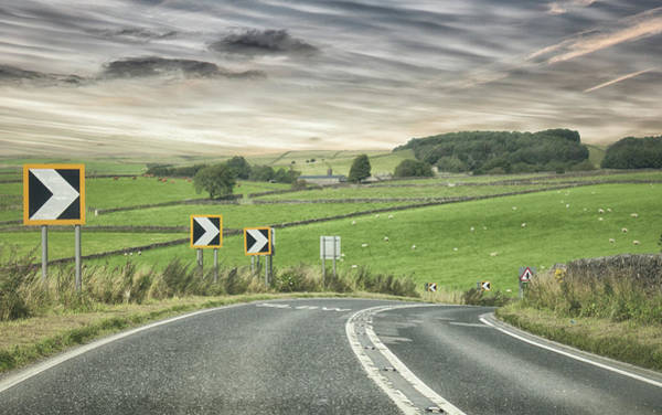 Lake District Wall Art - Photograph - Pointing The Way by Martin Newman