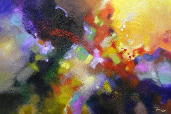 Painting - Points Of Light by Sally Trace