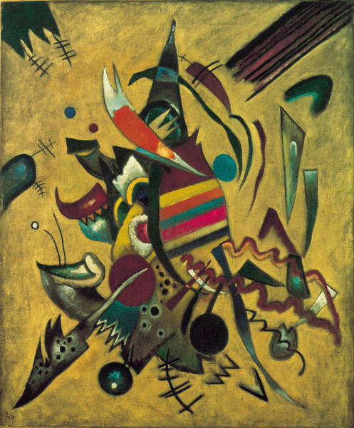 Painting - Points by Wassily Kandinsky