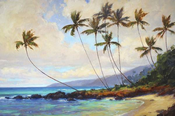 Hawaii Wall Art - Painting - Poipu Beach  by Jenifer Prince