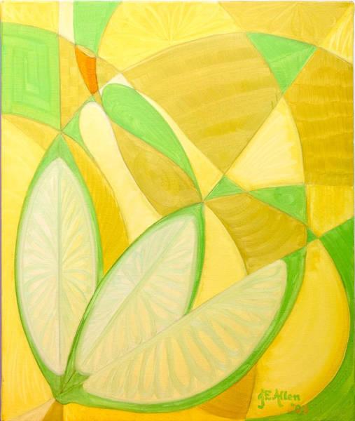 Francaise Painting - Poire Et Citrons by Joseph Edward Allen