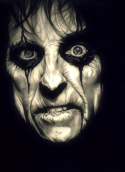 Alice Cooper Photograph - Poison Alice Cooper by Fred Larucci