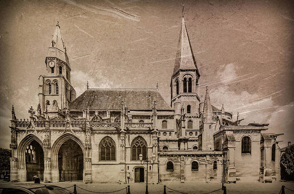 Photograph - Poissy, France - Notre-dame  De Poissy by Mark Forte