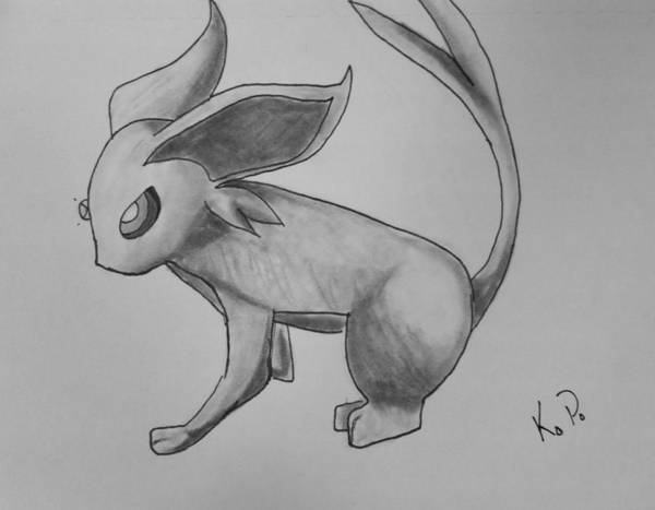 Pokemon Drawing - Poke1 by Kitty Perkins