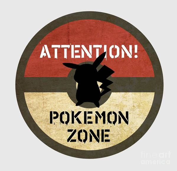 New Trend Digital Art - Pokemon Zone 3 by Irina Effa