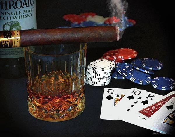 Photograph - Poker Night by Coleman Mattingly
