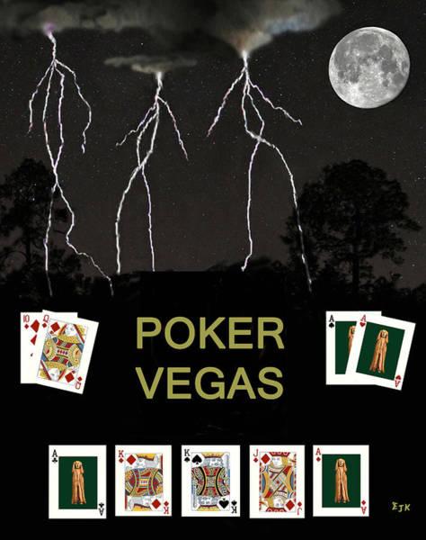 Macau Mixed Media - Poker Vegas by Eric Kempson