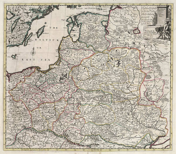 Poland Painting - Poland by John Senex