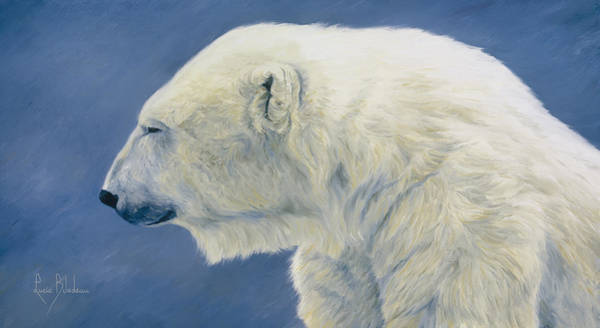 Wall Art - Painting - Polar Bear by Lucie Bilodeau