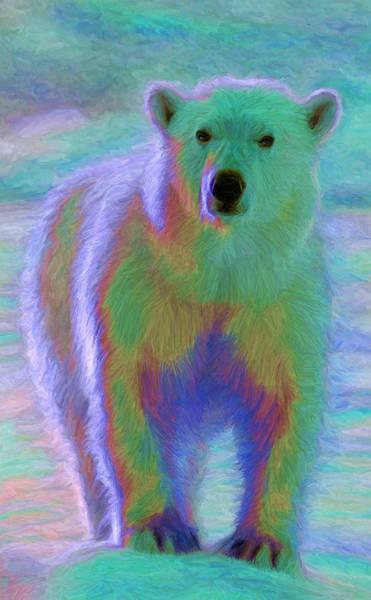 Digital Art - Polar Bear by Caito Junqueira