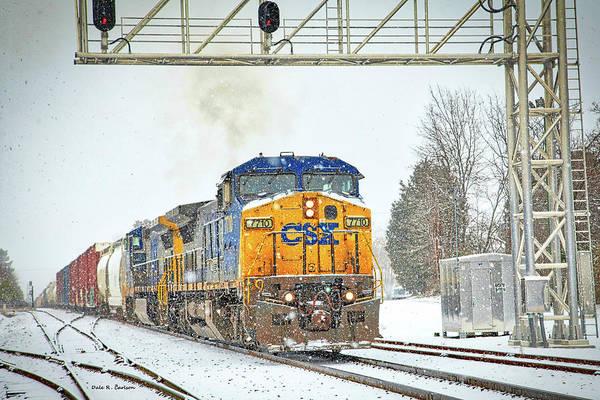 Photograph - Polar Express by Dale R Carlson