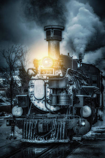 Steam Engine Photograph - Polar Express by Darren White