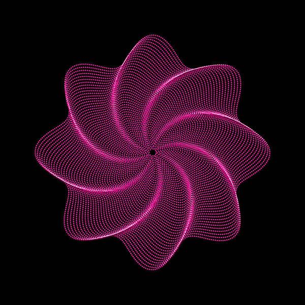 Digital Art - Polar Flower Viiir by Robert Krawczyk