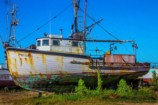 Dry Dock Photograph - Polaris In Dry Dock by Garry Gay