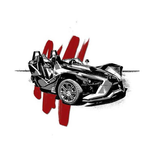 Wall Art - Digital Art - Polaris Slingshot Graphic by Melissa Smith