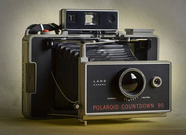 Photograph - Polaroid Countdown 90 Vintage Camera by Art Whitton