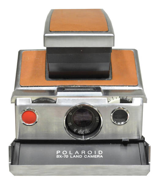 Photograph - Polaroid Sx70 On White by Brian N Duram