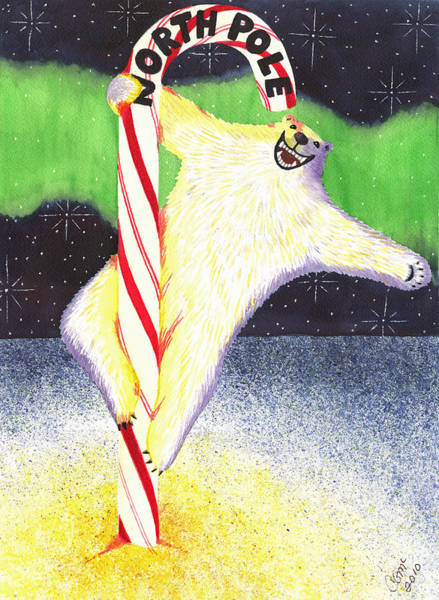 Painting - Pole Dancing by Catherine G McElroy