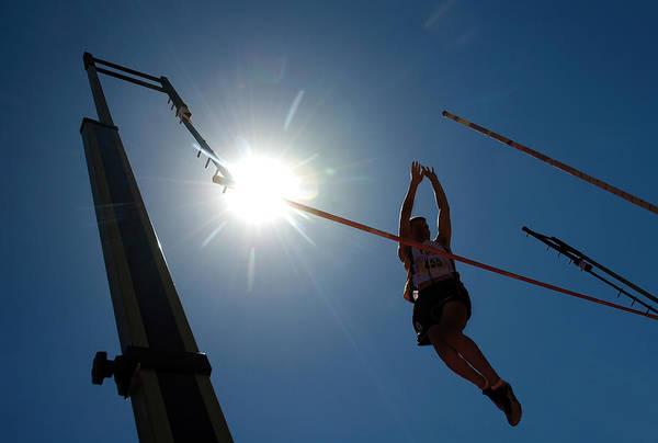 Photograph - Pole Vault Success by Steve Somerville