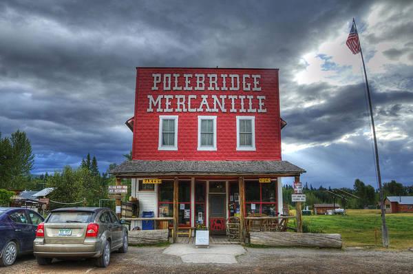 Photograph - Polebridge Mercantile by Darlene Bushue
