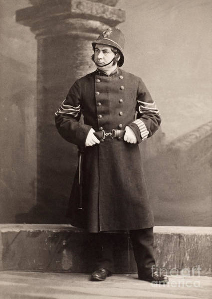 Photograph - Police Officer by Granger