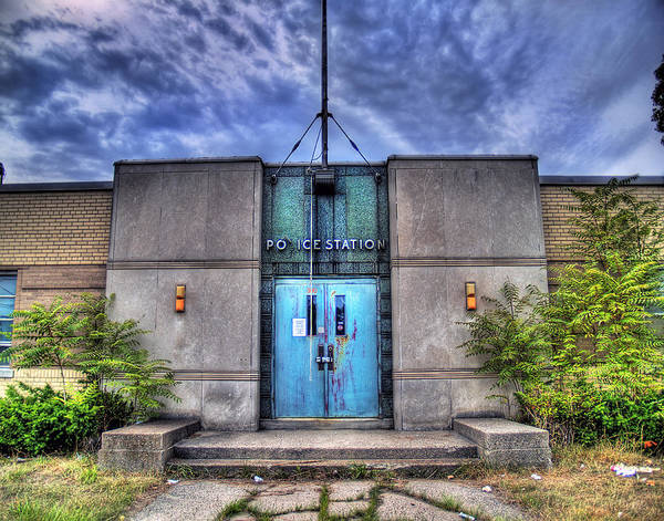 Wall Art - Photograph - Police Station by Tammy Wetzel