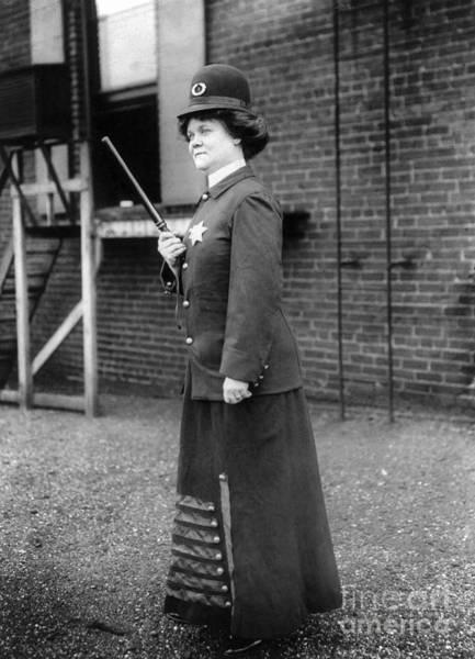 Photograph - Policewoman, 1909 by Granger