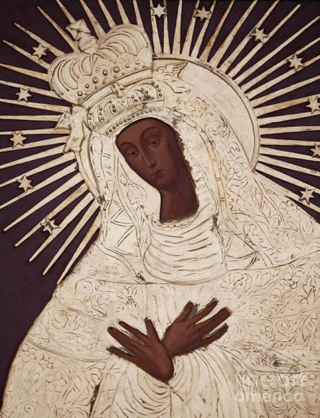 Wall Art - Painting - Polish Church Of Paris, The Black Madonna Of Czestochowa by Polish School