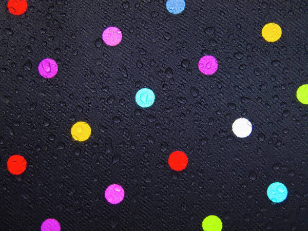 Polka Dots Photograph - Polka Dot Umbrella by Christopher Johnson