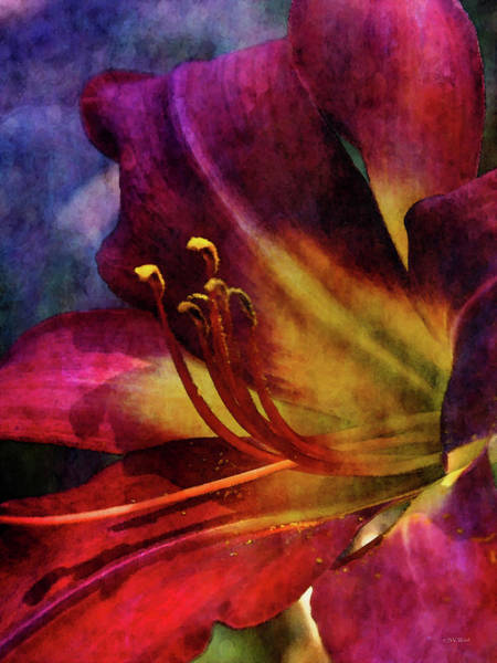 Photograph - Pollen On The Red Carpet 3677 Idp_2 by Steven Ward