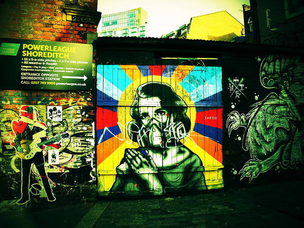 Wall Art - Photograph - Polluted London  by Funkpix Photo Hunter